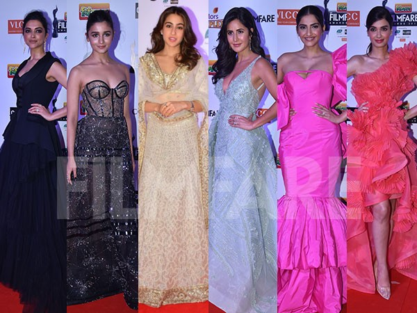 15 Best Dressed Divas at the 64th Vimal Elaichi Filmfare